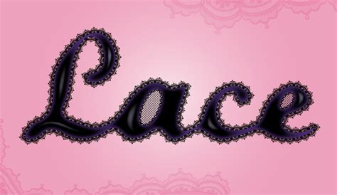 vector lace tutorial create a lace text effect in adobe illustrator