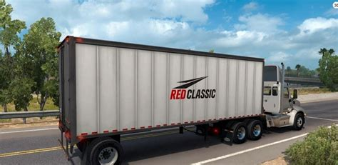 in trailer classic box trailer mod american truck simulator mod
