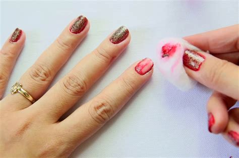 How To Remove Fingernail From by How To Remove Glitter Nail 11 Steps With Pictures