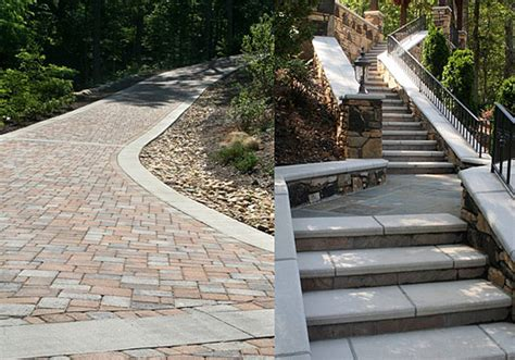 Paver Patio Slope Pavers On A Slope