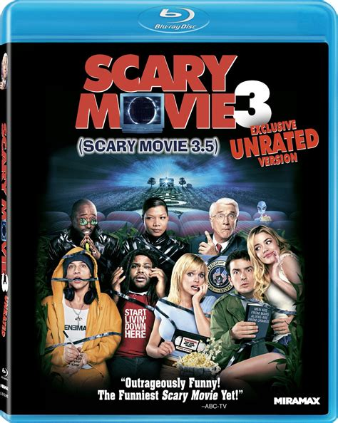 blu ray film scary movie 3 dvd release date