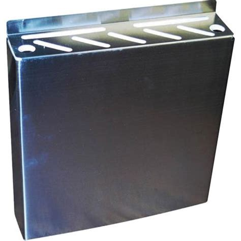 stainless steel l section winco kr 9 8 section stainless steel knife rack etundra