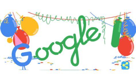 google design today google s 18th birthday doodler gerben steenks designs