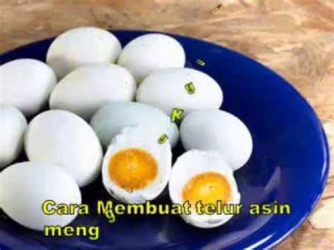 Membuat Telur Asin Menggunakan Air Garam | top cara membuat telur asin menggunakan air garam youtube