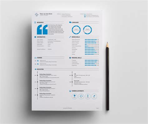 Exle Personal Resume by 55 Amazing Graphic Design Resume Templates To Win