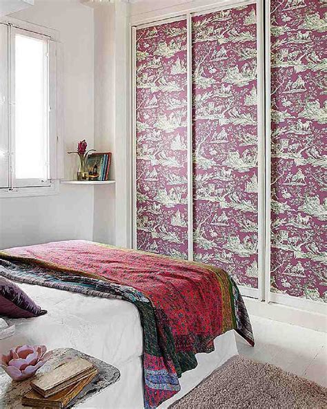 Decorated Wardrobes - 9 easy ways to decorate your closet doors