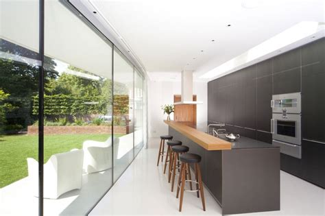 long kitchen narrow but long kitchen extension idea kitchen dining
