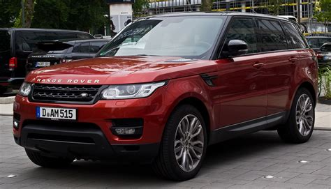 land rover sports file range rover sport sdv6 hse ii frontansicht 12