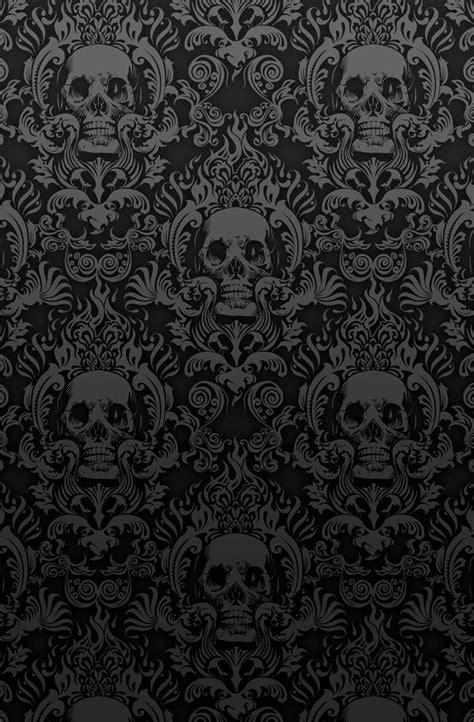 skulls background skull damask search results labels