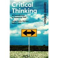 thinking and reasoning a introduction introductions books 9781472595683 critical thinking an knetbooks