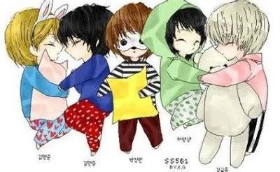 imagenes coreanas de ss501 ss501 anime fanart part 2 ss501 triple s philippines blog