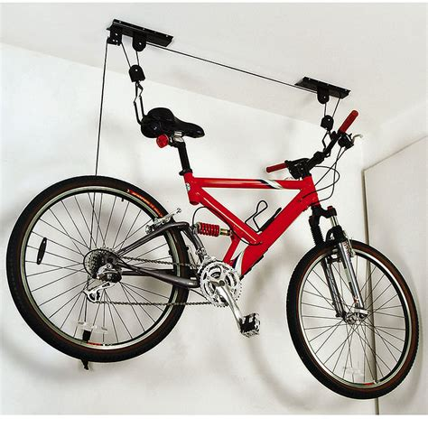 Ceiling Mounted Bike Lift by Ceiling Mounted Bike Lift 187 Petagadget