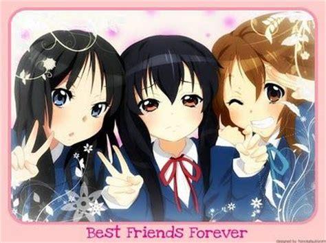 3 Anime Best Friends by 3 Anime Best Friends Best Friend Forever Best