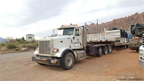 2006 peterbilt 357 bed truck beeman equipment sales
