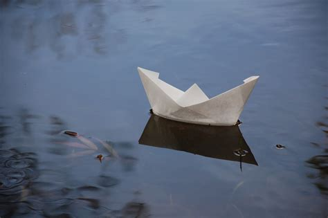 Paper Boat - while there is still time paper boats