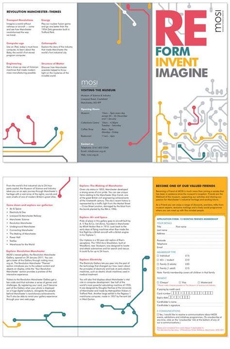 design brief brochure 44 best museum brochures images on pinterest brochures