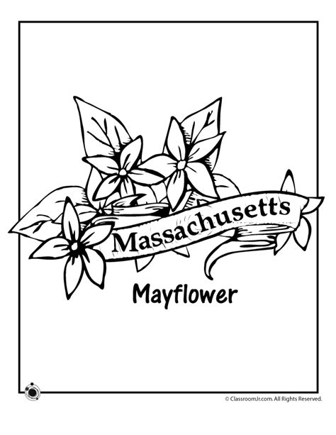 massachusetts flag coloring page coloring home