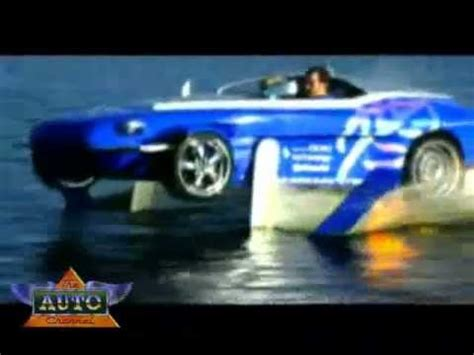toy boat that turns into a car rinspeed splash sports car speed boat youtube