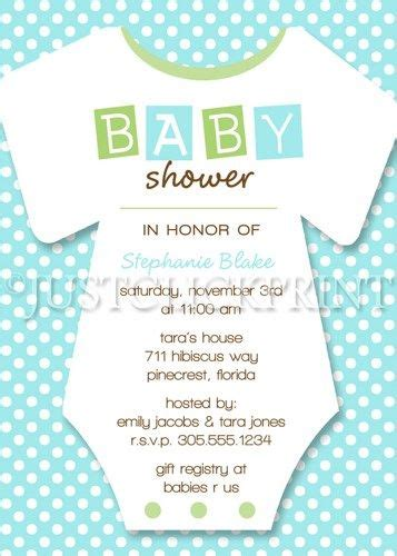 baby onesie template for baby shower invitations boy girl baby shower onesie invitation pink green blue