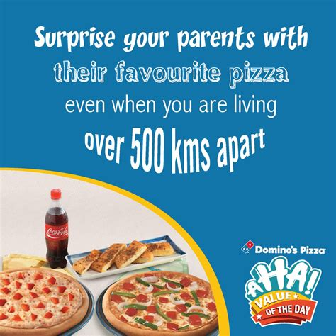 domino pizza of the day domino s pizza india on twitter quot ahavalue of the day