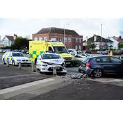 POLICE Car Involved In Serious Road Traffic Accident