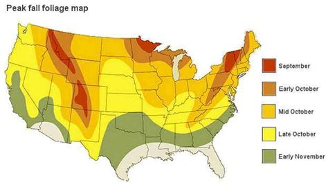 fall colors map who will strong fall foliage in 2015 forecast