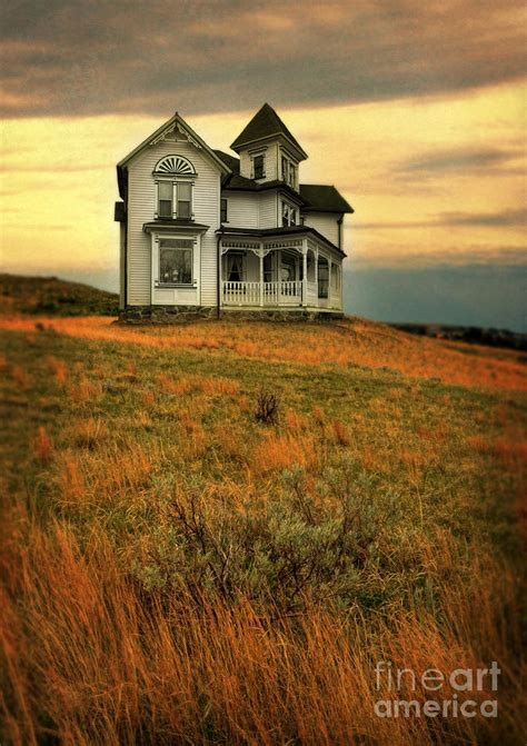 house on a hill victorian house on a hill photograph by jill battaglia