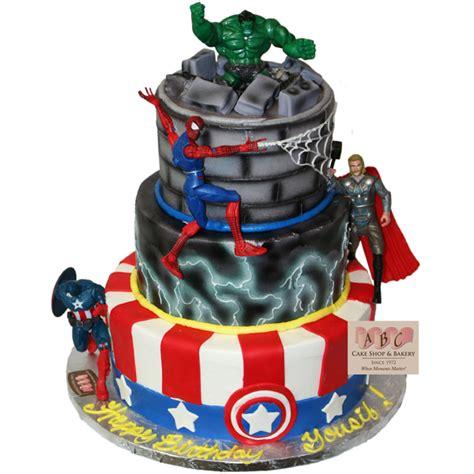(1548) Marvel Superhero Cake   ABC Cake Shop & Bakery