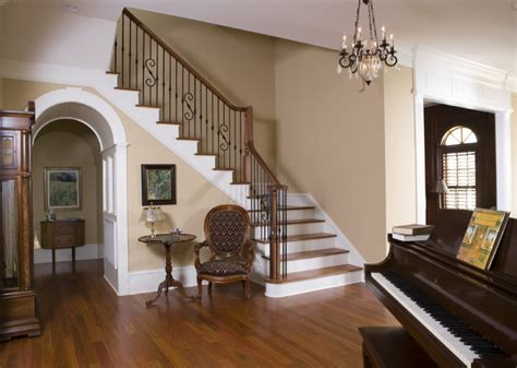 Decorating Ideas For Foyers With Staircases Manning Residence Foyer And Stairway