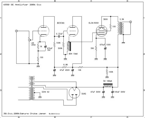 Power Lifier Soundlab single ended schematic get free image about