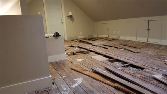 How To Finish An Attic Floor by Flooring Finishing Attic Floor Joists Blocking