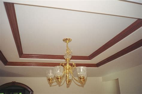 Crown Molding In Tray Ceiling by Crown Moldings For Ceilings Studio Design Gallery