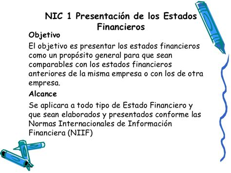 preguntas generales a una empresa nic 1 presentaci 243 n de los estados financieros