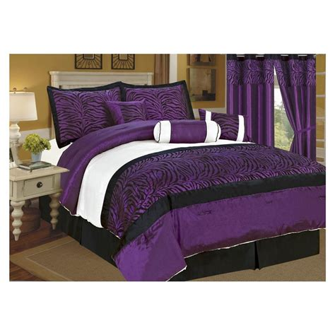 purple comforter set purple bedrooms black white purple bedroom purple king