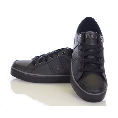 black shoes ralph shoes bolingbrook black leather ralph