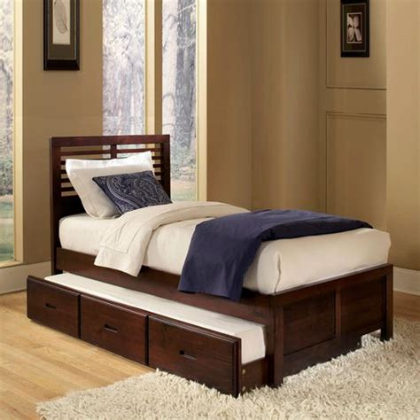 full bed with pull out bed oxford creek full size pull out trundle bed shop your
