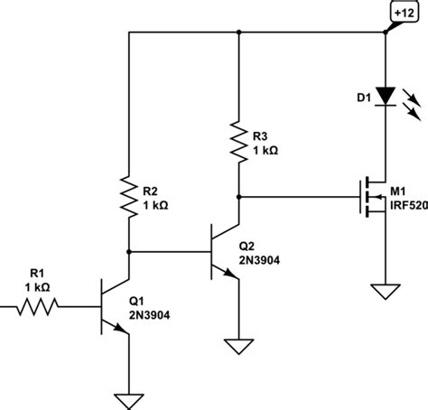 arduino transistor driver circuit arduino led driver controller for 3 3v 5v circuit electrical engineering stack exchange