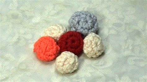 how to knit buttons learn how to crochet tutorial