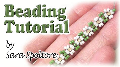 seed bead tutorials for beginners beadsfriends bead flowers for beginners chain