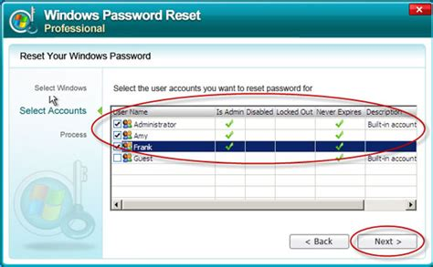 password reset software xp windows 7 password remover software