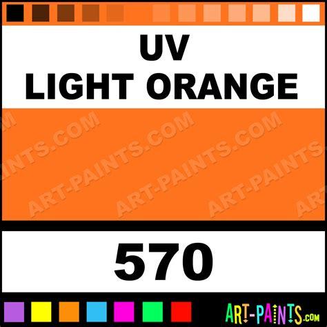 uv light orange colors ink paints 570 uv light orange paint uv light orange color