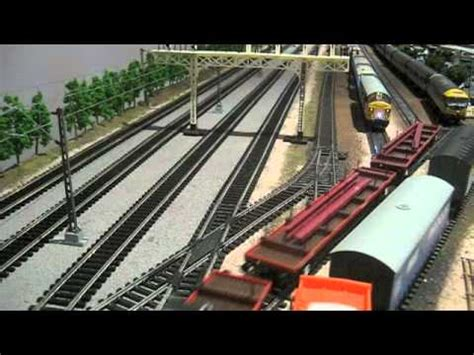 hornby layout youtube br 1980 s british rail hornby model train layout part 17
