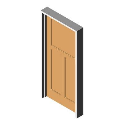 Karona Door by Door K5320 Ogee Karona 3d Model Formfonts 3d Models