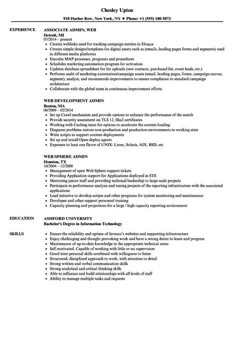 resume introduction sle microstrategy administrator sle resume free standard