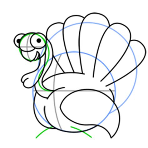 can turkeys see color how to draw a turkey