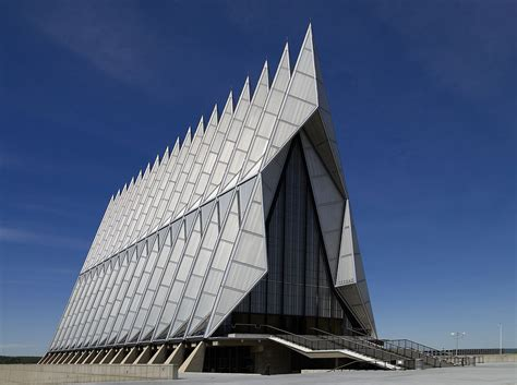 us architects united states air academy cadet chapel
