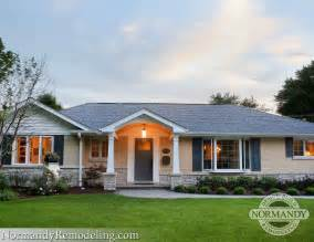 Ranch Style House Exterior of plausible images on demand exterior remodeling ranch style