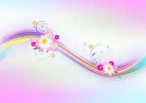 sample pink floral backgrounds for presentation ppt