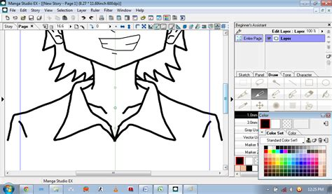 tutorial menggambar di manga studio 5 tutorial menggambar simple menggunakan manga studio ex4