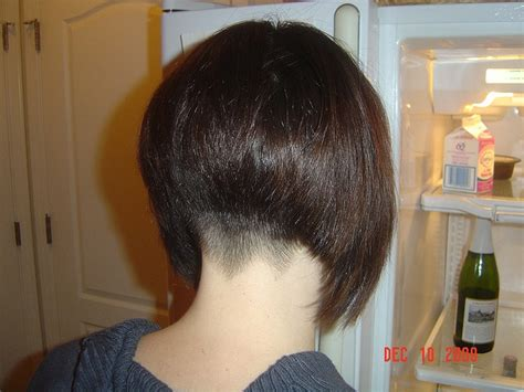 picture of nape in hair cuts lifted bob shaved back google search hair pinterest